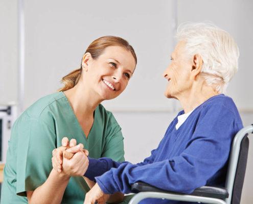 pielęgniarka opiekunka osoby starszej