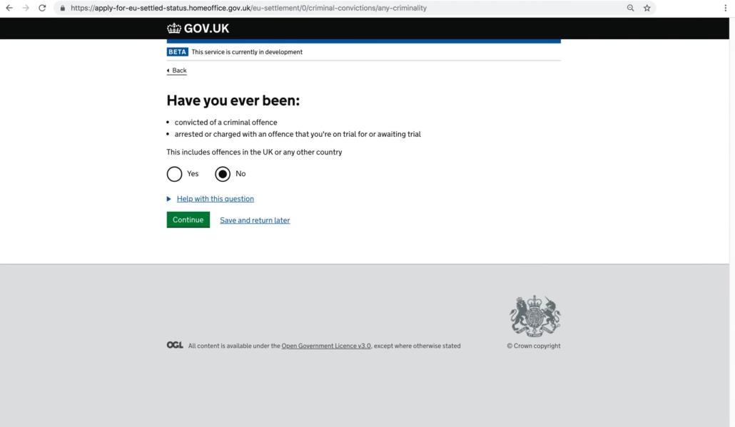 System osiedleńczy w Wielkiej Brytanii