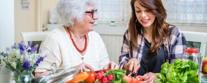 Dieta seniora w Anglii