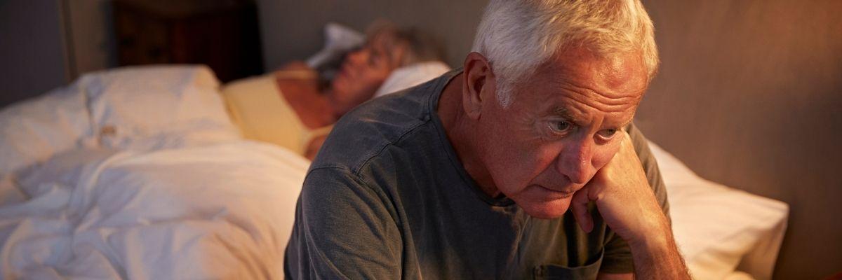 bezsenność u osoby starszej