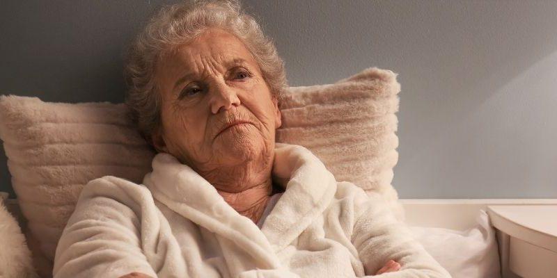 bezsenność u seniora