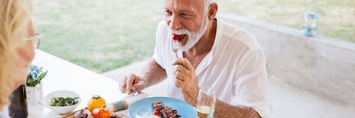 brak apetytu u seniora